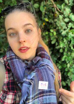 Grace Tegeler hermosa blanquita de ojos verdes Grace Tegeler